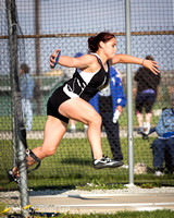 Track: Lapel Girls Sectionals 2015