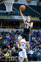 Baskeball: Lapel vs Hagerstown @ Banker's Life Fieldhouse 2-13-16