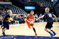 Basketball: Frankton Middle School 5th-6th Grade at Banker's Life Fieldhouse, Dec 21, 2013