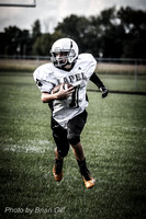 Football: Lapel 7th Grade @ Frankton 9-2-14