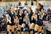 Volleyball: JV Frankton and Lapel 9-9-15