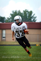 Football: Lapel 7th Grade @ Alexandria 8-28-13