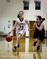 Basketball: Lapel Girls JV vs Sheridan 12-30-15