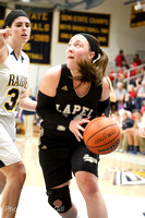 Basketball: Lapel HS Girls Sectionals vs Shenandoah