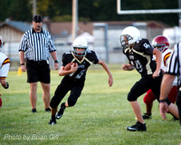 Football: Lapel 8th Grade vs Alexandria 8-27-14
