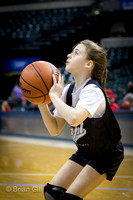 Basketball: Lapel 4th and 5th Grade Girls at Banker's Life Fieldhouse