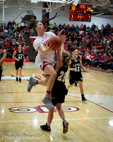 Basketball: Lapel vs Frankton Girls Sectionals 2-5-16