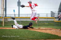 Baseball: Lapel HS vs Frankton 4-22-16