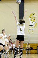 Volleyball: Lapel 8th Grade vs Knightstown September 2012