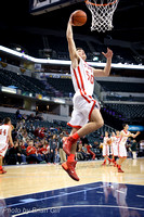Basketball: Frankton High School @ Banker's Life Fieldhouse vs. Oak Hill High School. Dec 21, 2013