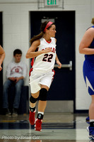 Basketball: Frankton HS Girls Sectionals vs Burris