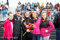 Football: Lapel HS vs Knightstown Sr Night 10-9-15