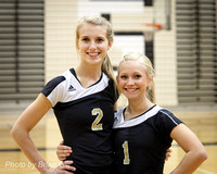 Volleyball: Lapel JV-Varsity Senior Night vs APA