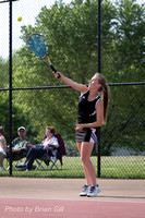 Tennis: Lapel Girls Sectional Finals 2015